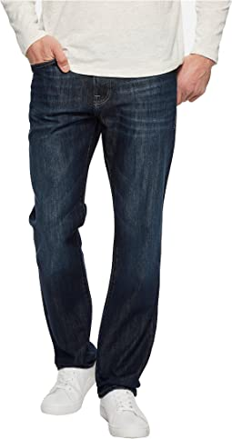 Mavi Jeans - Myles Mid-Rise Straight Leg in Deep Brushed Stanford