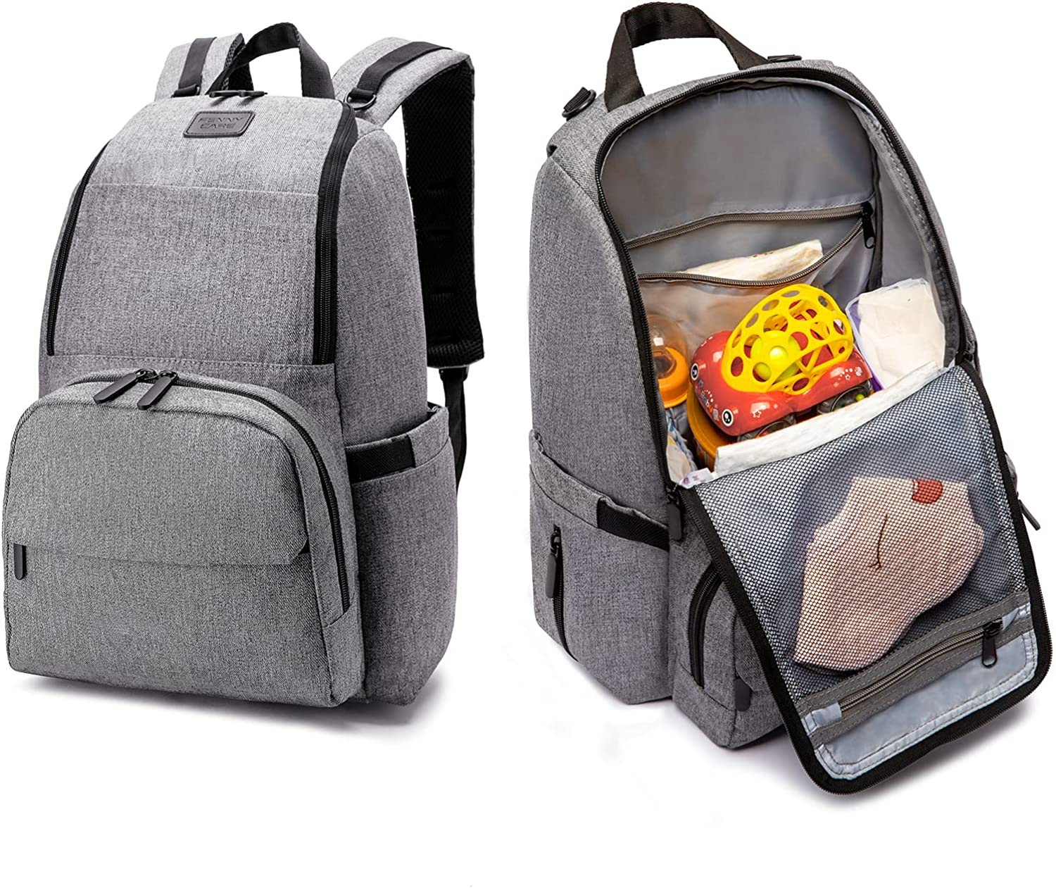 Diaper Bag Large Capacity Diaper Bag Mommy Bag Multifunctional Adult Baby Bag Can Be Hung On The Stroller Easy To Use When Traveling Splash-Proof Baby Bag Suitable For Both Men And Women