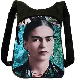 Akitai Young Frida Kahlo Portrait Ocean Green Backpack Womens Purse - Unique  Women Gypsy Fashion Ideas
