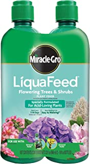 Miracle-Gro 1004402 Not Available LiquaFeed Flowering Trees and Shrubs Plant Food Refill Pac, 16 oz Each, Multicolor
