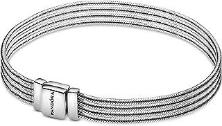 PANDORA Reflexions Multi Snake Chain 925 Sterling Silver Bracelet - 597943