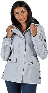 Regatta Women's Ninette' Lined Hooded With Internal Security Pocket Jackets Waterproof Shell