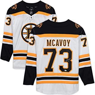 Charlie McAvoy Boston Bruins Autographed White Fanatics Breakaway Jersey - Fanatics Authentic Certified