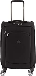 Delsey Paris Montmartre Air 55 cm 4 Double Wheels Expandable Trolley Carry-On (Softside), Black (00225280100)