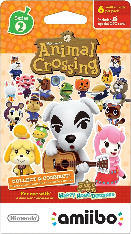 Nintendo Animal Crossing Cards - Series 2 (Pack of 6 cards)