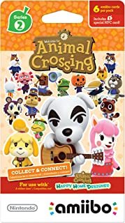 Nintendo Animal Crossing Cards - Series 2 (Pack of 6 cards)