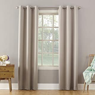 Sun Zero Becca Energy Efficient Grommet Curtain Panel, 40