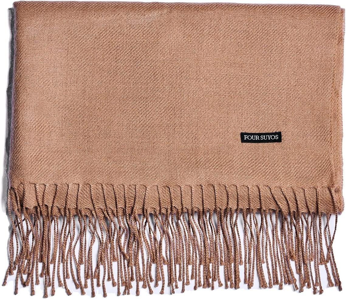 FOUR SUYOS Alpaca Popular product Throw Blanket - Shawl Super-cheap Baby 100% Ul Wool