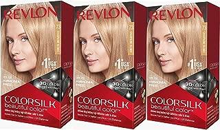 Revlon Colorsilk Beautiful Color, ChampagneBlonde, 3 Count