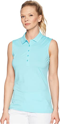Opti-Dri Micro-Hex Sleeveless Polo