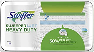 Swiffer Sweeper Wet Heavy Duty Drying Cloths - 20ct Multicolor
