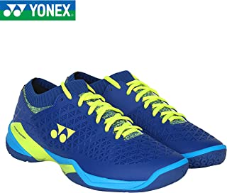 Yonex Eclipsion Z Wide Badminton Shoes (Blue/Yellow)