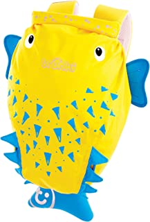 Trunki Kid's Waterproof Swim & Gym Bag – PaddlePak Spike PufferFish (Yellow)