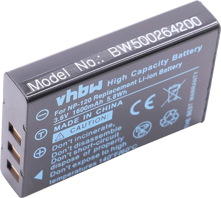 BATERÍA LI-Ion Compatible con Toshiba Camileo X100 X100 HD X 100