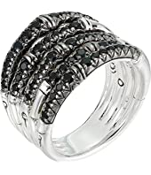 John Hardy - Bamboo Ring with Black Sapphire
