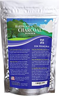 Large 2.5 lb Hardwood Activated Charcoal Powder 100 Percent from USA Trees. All Natural. Whitens Teeth, Rejuvenates Skin a...