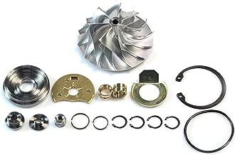 Billet Compressor Wheel Rebuild Kit for 2004.5-2007 Dodge Ram with Cummins 5.9L Diesel HE351CW Turbocharger