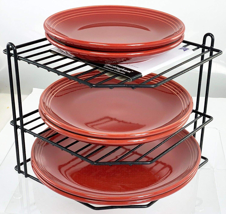 Buckingham 3 Tier Cheap mail order shopping Corner Plate Cupboard Kitchen Organiser Superlatite S Tidy