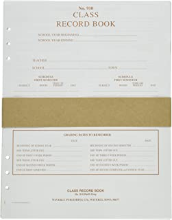 Waverly WP-910 Loose-Leaf Design Class Record Book Refill, 6-Subject, 8-1/2