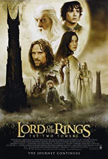 lotr two towers poster