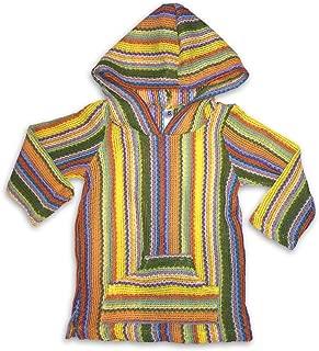 Infant/Toddler Baja Hoodie Multi-Stripe Sweater with Pocket