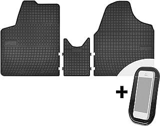 Gummimatten Auto Fußmatten Gummi Automatten Passgenau 3 teilig Set   passend für Peugeot Expert II, FIAT Scudo II, Citroen Jumpy 2 II, Toyota ProAce I
