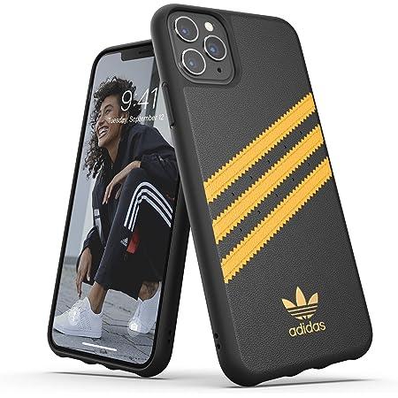 Adidas OR - Carcasa para iPhone 11 Pro MAX, Color Dorado y Negro