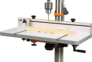 WEN DPA2412T 24 in. x 12 in. Drill Press Table with an Adjustable Fence and Stop Block