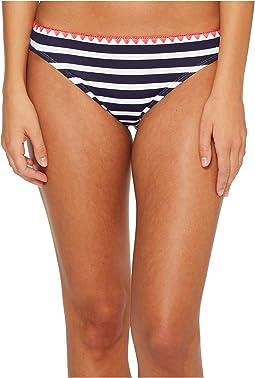 Tommy Bahama - Breton Stripe Hipster Bikini Bottom