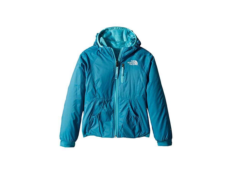 The North Face Kids Reversible Breezeway Wind Jacket (Little Kids/Big Kids) (Algiers Blue) Girl