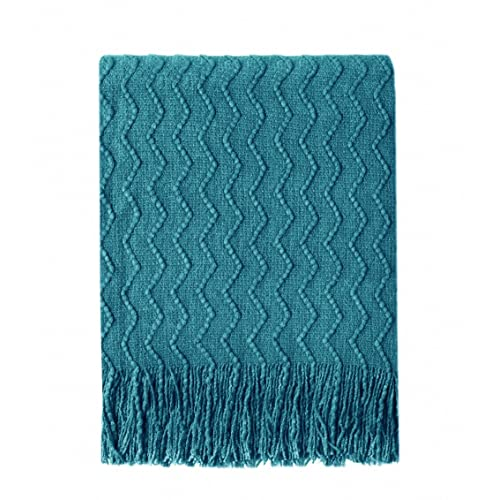 Teal Color Bed Throws: Amazon.com
