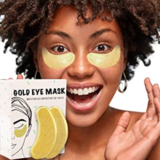 Best 30 pcs Under Eye Patches, 24K Gold Collagen Under Eye Mask with Hyaluronic Acid, Anti-Aging for Dark Circles, Puffiness and Wrinkles, Deep Moisturizing Improves Elasticity Pads Review