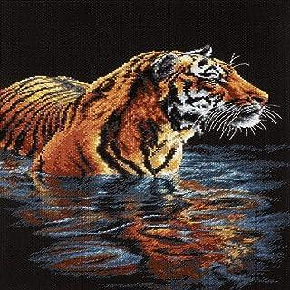Dimensions Gezählter Kreuzstick Set, Tiger Chilling Out