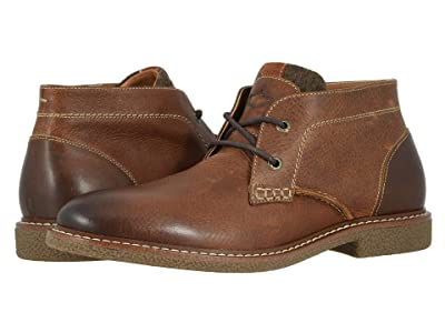Dockers Greyson (Cognac Soft Tumbled Full Grain) Men