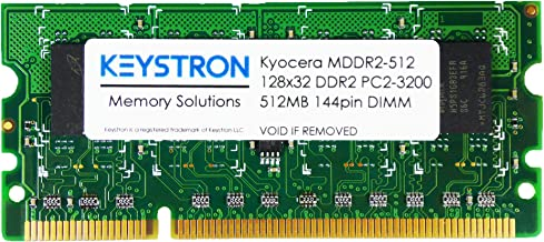 MDDR2-512 512MB DDR2 Memory for Kyocera Printer FS-1370DN FS-3540MFP FS-3640MFP FS-6525MFP FS-6530MFP ECOSYS P2135dn