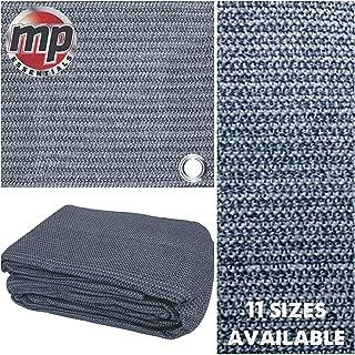 MP Essentials - Carpa de suelo hecha de tela resistente a la intemperie y a la putrefacción, azul y gris