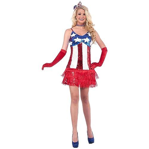 Uncle Sam USA Patriotic Plus Size Adult Costume