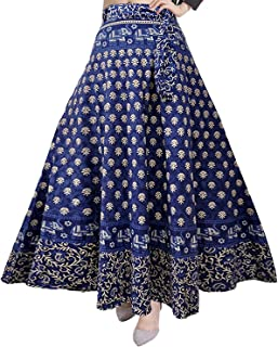 166300327730a9 Silver Organisation Women's Cotton Skirt (SK_5183, Multicolor, Free Size)