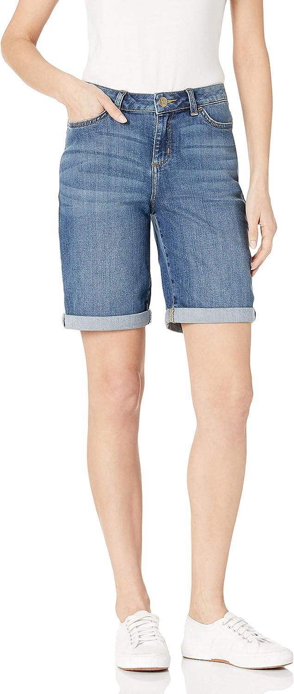 Lee Women's Regular Fit Rolled Hem Bermuda Short