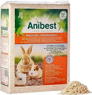 Anibest ANIBEST-60L-10315 Naturalna Wyściółka dla Małych Zwierząt, 60 L