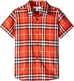 Fred Short Sleeve Shirt (Little Kids/Big Kids)