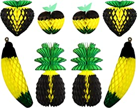 product image for 8-Piece Large Jamaican Honeycomb Fruit Decorations