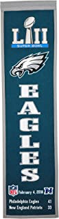 NFL Philadelphia Eagles Super Bowl 52 Championship Banner