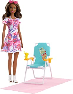 Barbie FPR55 Beach Chair Doll