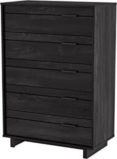 South Shore Fynn Collection 5-Drawer Chest - Gray Oak