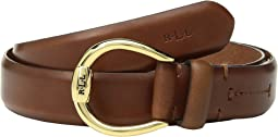 "1"" Bennington Equestrian Belt on Smooth Strap"