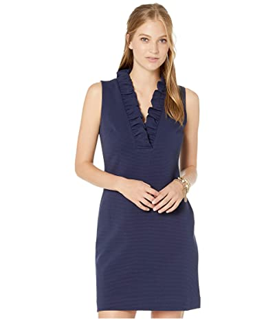 Lilly Pulitzer Tisbury Shift (True Navy) Women