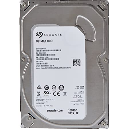 Barracuda 7200.14 3.5inch 1TB 64MB 7200rpm SATA6.0Gb/s ST1000DM003 [並行輸入品]