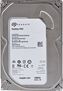 Seagate シーゲイト 内蔵ハードディスク Desktop HDD 1TB ( 3.5 インチ / SATA 6Gb/s / 7200rpm / 2年保証 ) 正規輸入品 ST1000DM003