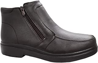 AK collezioni Scarpe stivaletti uomo casual invernali sneakers polacchine con pelliccia interna numero 40 41 42 43 44 45